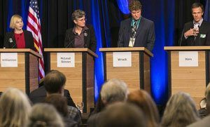Secretary of State candidates debate public trust, election integrity